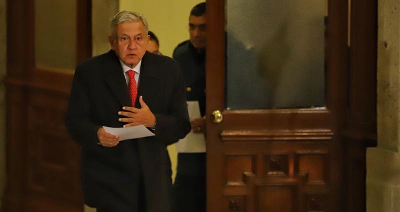 Andrés Manuel López Obrador aseguró que siente