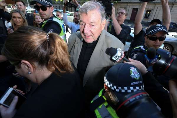 Pell se enfrentaba a otra acusación por pederastia supuestamente cometida en la década de 1970. FOTO: AFP
