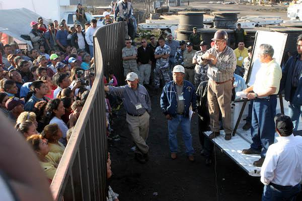 Mina Pasta de Conchos, Archivo FOTO: Pedro Valtierra/CUARTOSCURO.COM