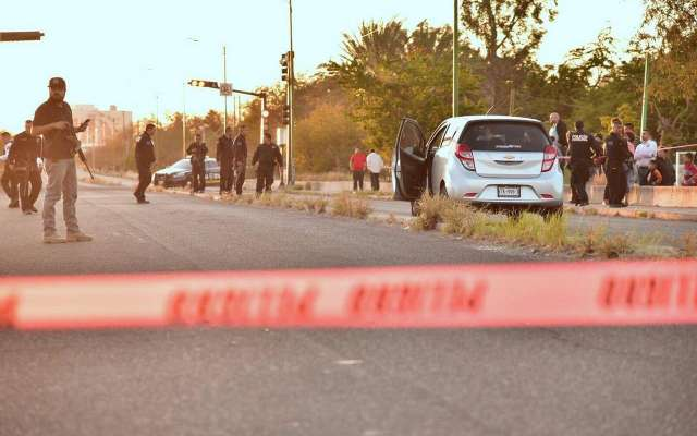 Los comunicadores fueron atacados con armas largas. FOTO. ESPECIAL