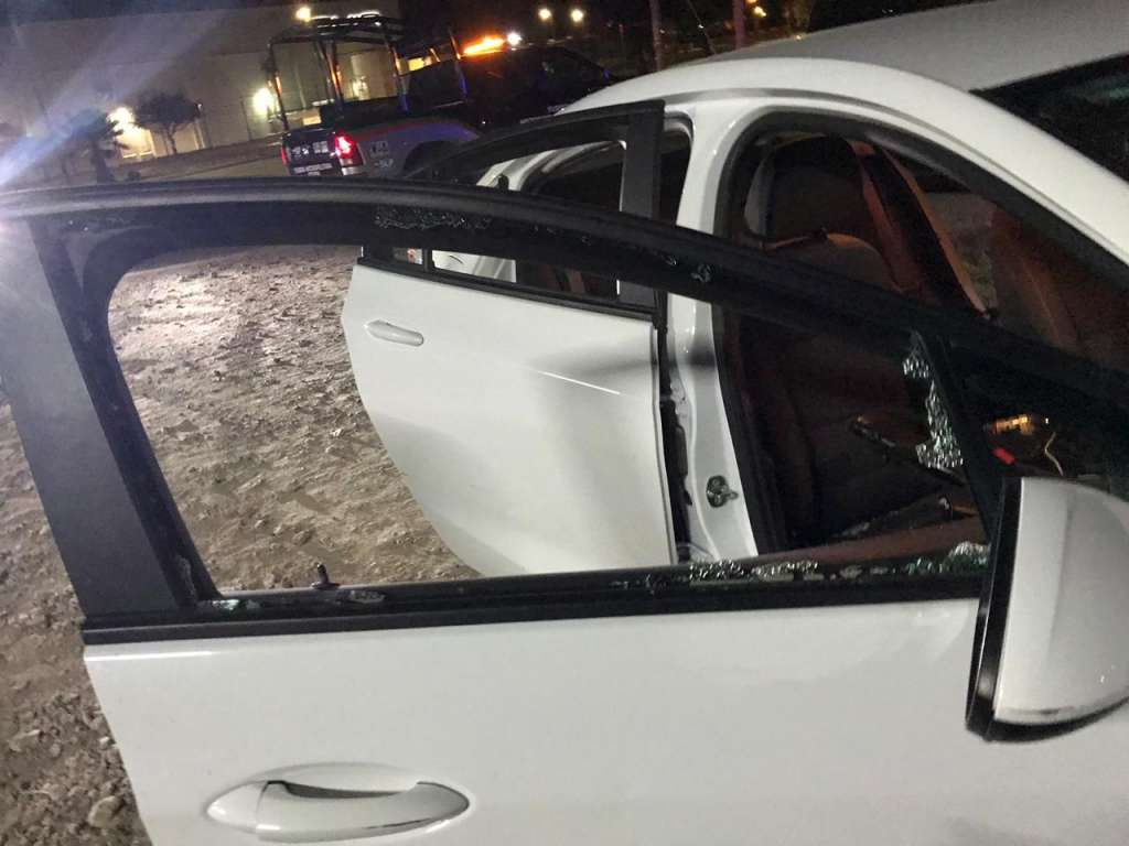 Dos hombres realizaron el ataque contra el diputado. FOTO: ESPECIAL