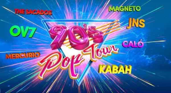 Otras fechas que tiene esta gira son el 2 de marzo en San Luis Potosí y el día 4 en Mazatlán. Foto @90sPopTour