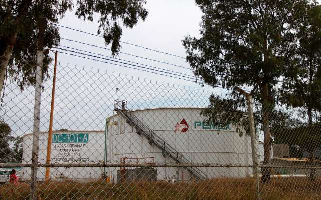 Producción de petróleo crudo