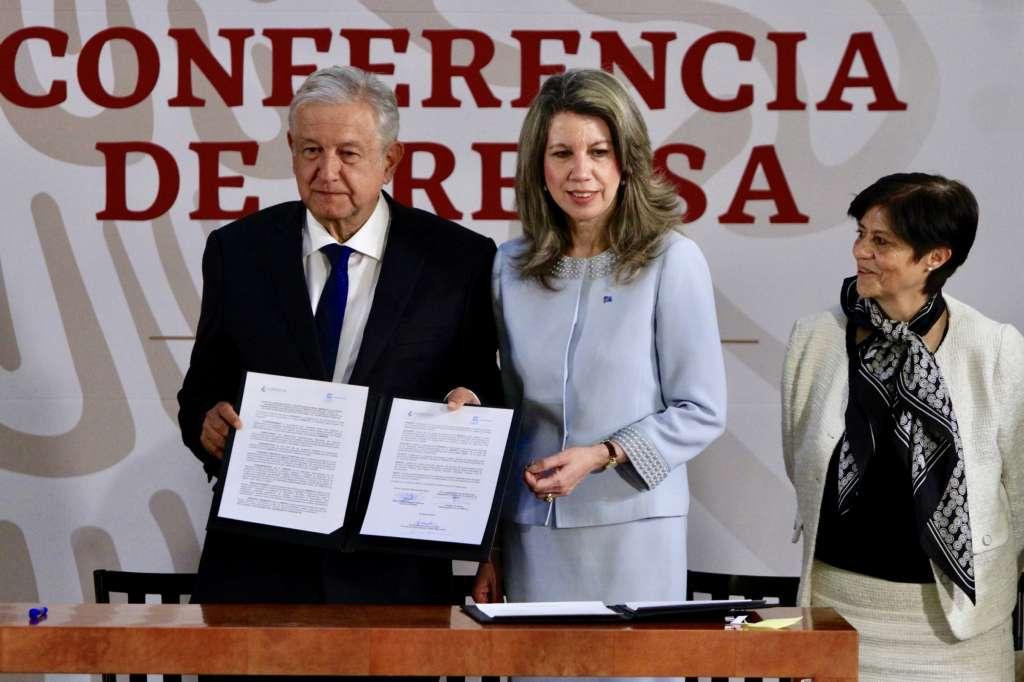 Convenio Gobierno de México-ONU