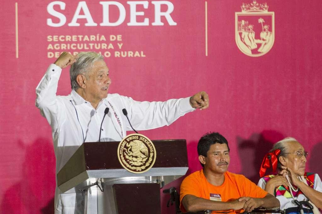 López Obrador en Chiapas
