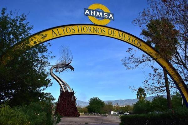 La planta de la siderúrgica Altos Hornos de México en Monclova,Coahuila. Foto: Reuters