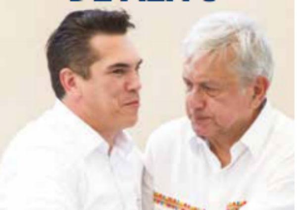 """""""Me está apoyando el gobernador de Campeche; y de una vez les digo: ya no hay que estarnos peleando"""