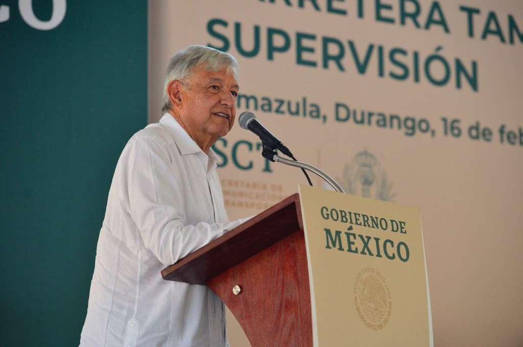 Andrés Manuel López Obrador en Tamazula