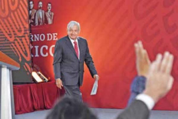 López Obrador señaló que no quiere involucrarse en un asunto tan polarizado como la situación en Venezuela. FOTO: ÉDGAR LÓPEZ