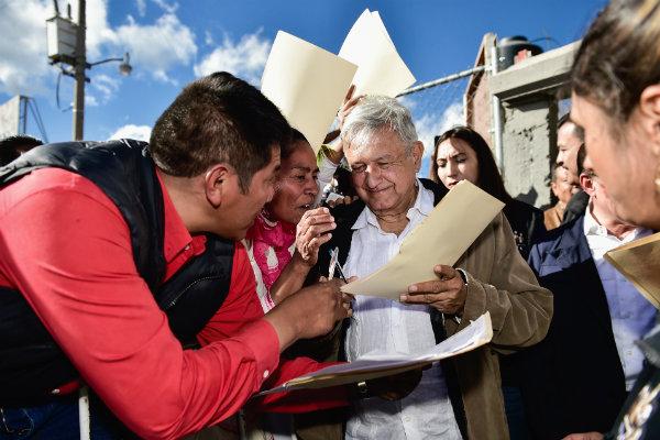 López Obrador hizo referencia al caso y aseguró que nadie será desalojado