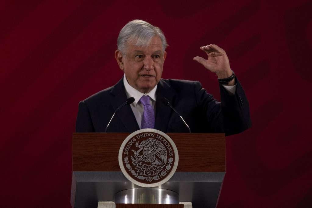 López Obrador visita este viernes el municipio de Badiraguato, en Sinaloa. FOTO: CUARTOSCURO