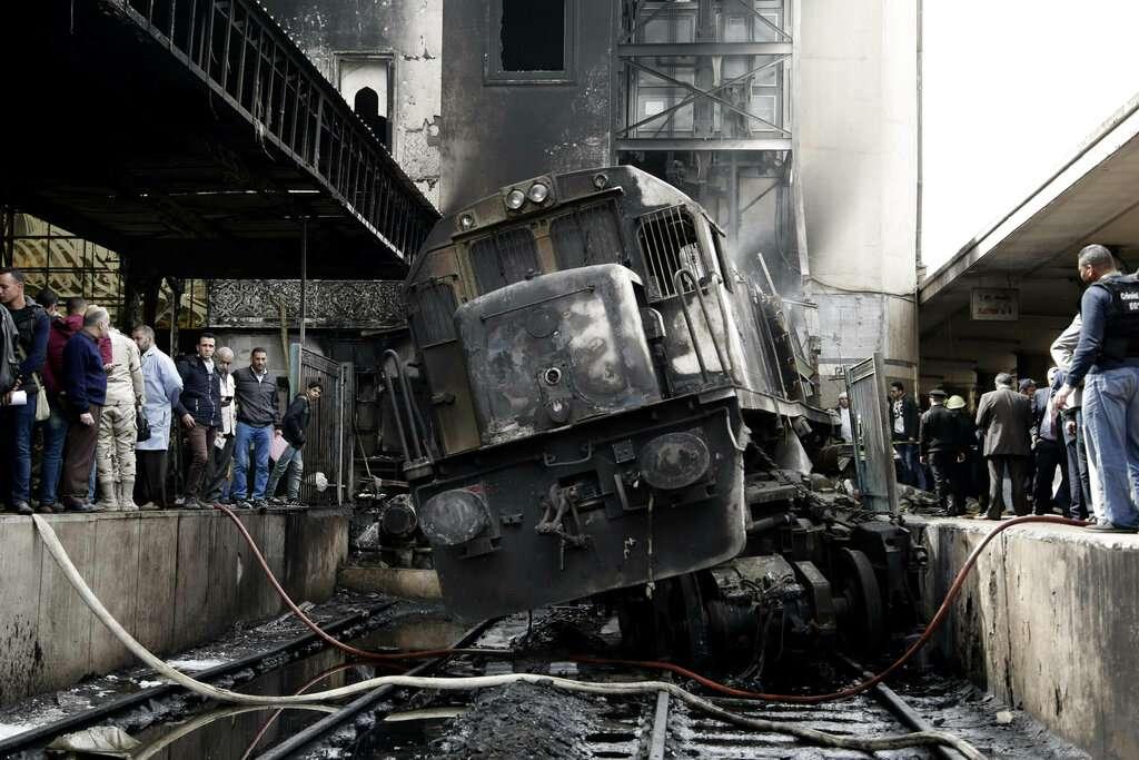 Explosión en estación de trenes de El Cairo