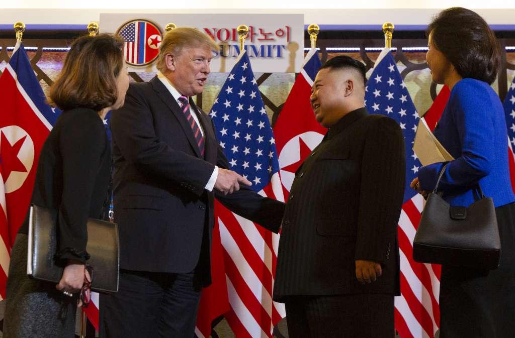 Donald Trump y Kim Jong-un