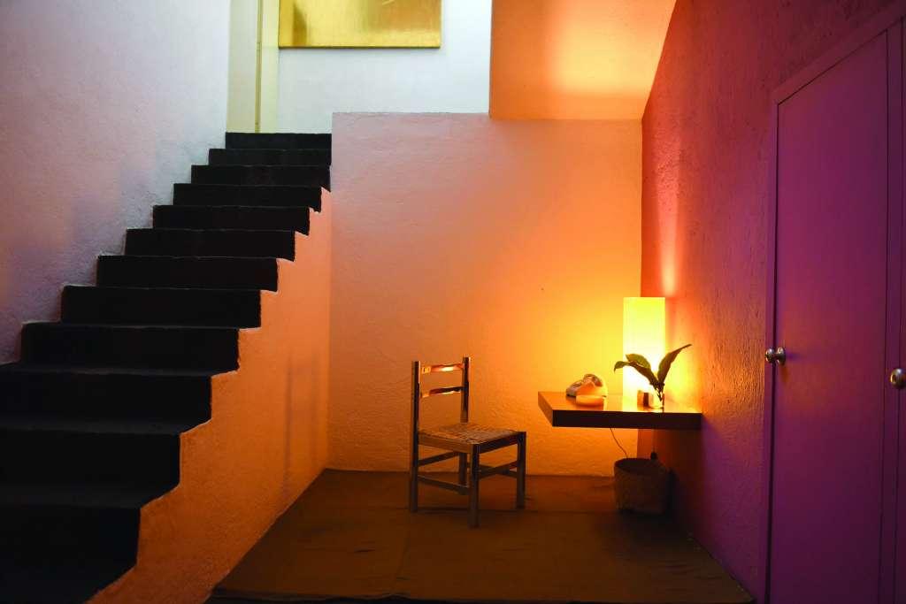 HÁBITAT. La exposición enfatiza la forma en que el arquitecto entendía su espacio privado. Foto: LESLIE PÉREZ