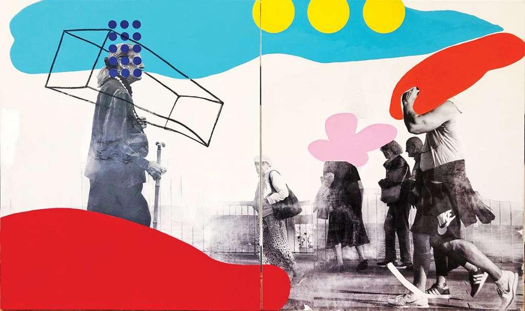 NOVEDAD. La Galería Oscar Román inauguró Paralelas Contemporáneas XII, con la participación de 17 artistas. Foto: Especial