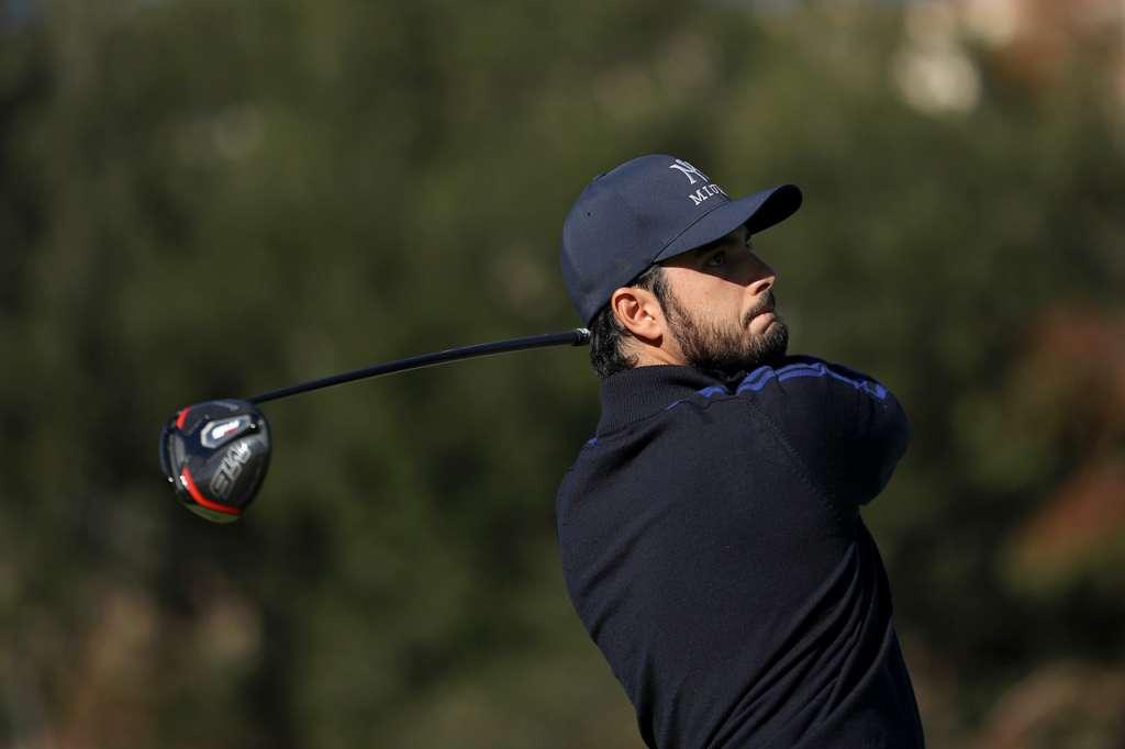 Abraham Ancer en torneo disputado en California, EU AFP