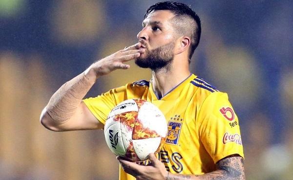 El delantero francés llegó al fútbol mexicano para los Tigres en el torneo Apetrura-2015 y desde entonces como felino ha ganado tres títulos de liga y dos de goleo individual. Foto: Especial