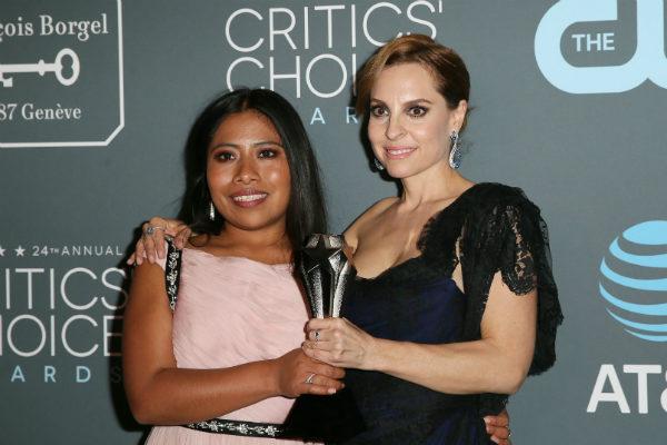 Visiblemente cansadas, pero cumpliendo con la promoción del filme que tiene 10 nominaciones a los premios Oscar, las actrices detallaron lo emocionadas que se encuentran por poner el nombre de México en alto