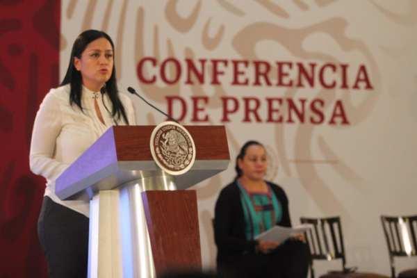 La titular de Bienestar, María Luisa Albores, dijo queel Programa de Estancias Infantiles no desaparecerá. Foto:@A_MontielR