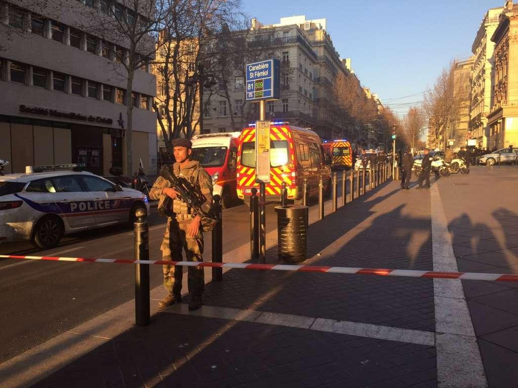 Ataque en Marsella