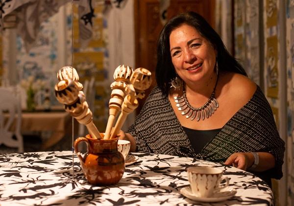 ARTISTA PLÁSTICA. Betsabée Romero. Foto: Yaz Rivera