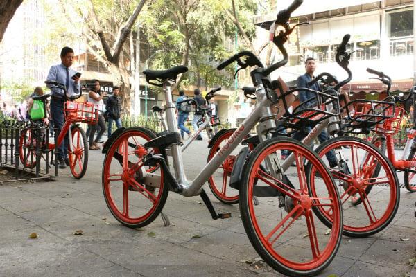 """""""Esta cantidad de bicis es muy limitada para cubrir la demanda actual y así darles un servicio óptimo a todos ustedes"""", señaló la empresa Mobike"""