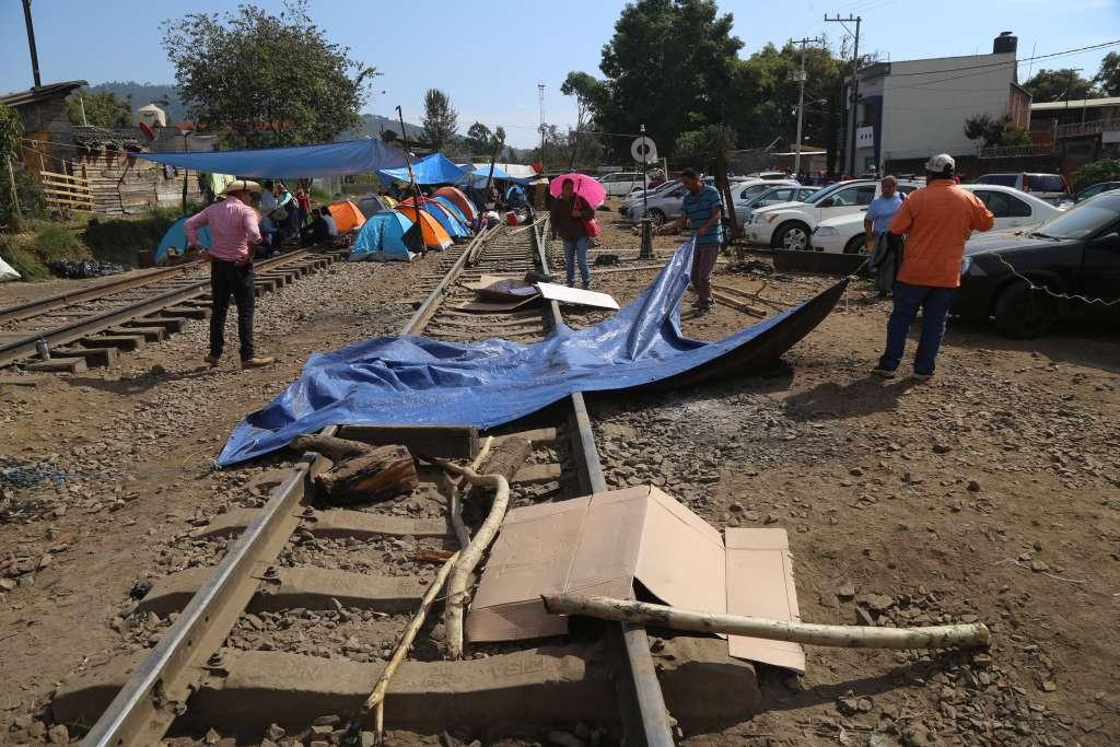 Hasta ayer por la tarde estaban bloqueadas las vías en el municipio de Pátzcuaro y Caltzontzin. FOTO: ARCHIVO/ CUARTOSCURO