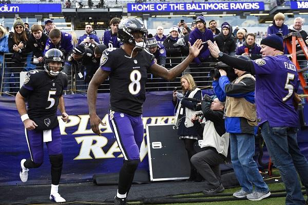Flacco, el Jugador Más Valioso del Super Bowl de 2013, quedó a la deriva en Baltimore tras la irrupción del novato Lamar Jackson. Foto: AP