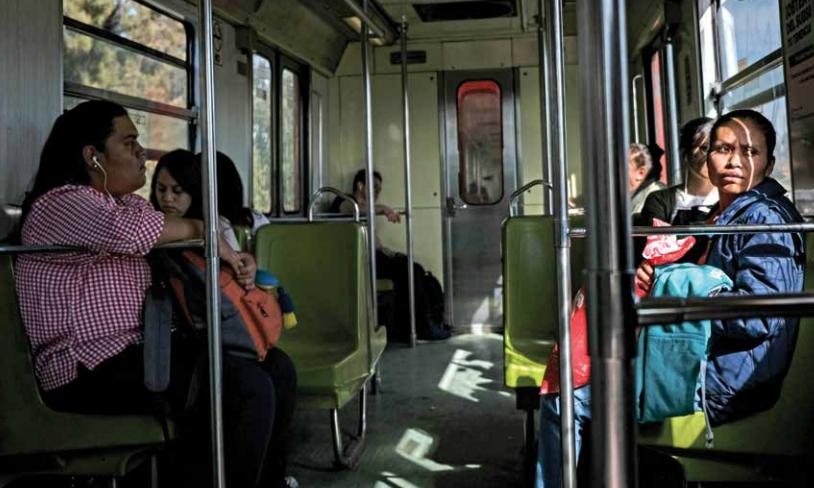 Cuando las usuarias del Metro son agredidas, no suelen ir a levantar una denuncia, pues no reciben una atención adecuada. FOTO: NAYELI CRUZ l