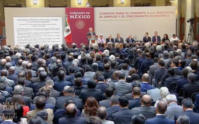 López Obrador encabeza la creación del Consejo para el Fomento a la Inversión y el Empleo: EN VIVO