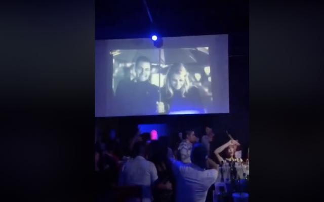El video aparece en la página del club nocturno. FOTO: ESPECIAL