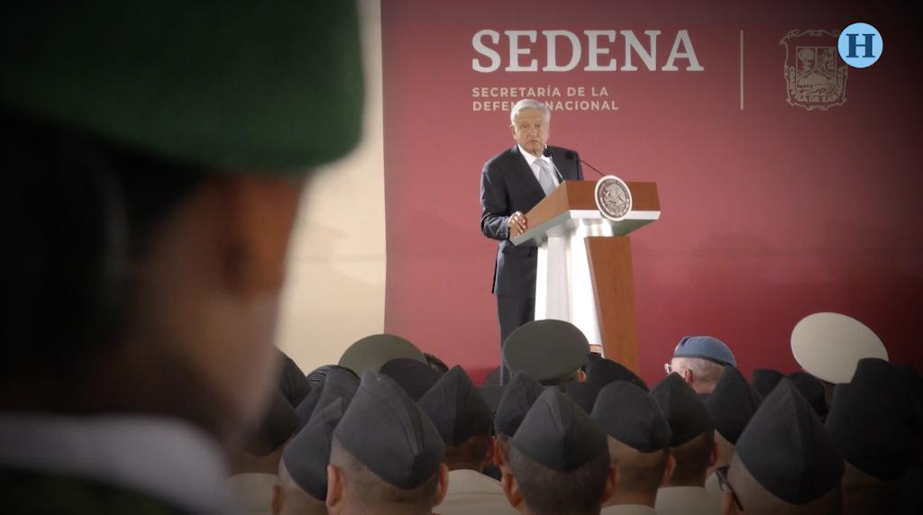 Ejército indispensable: López Obrador