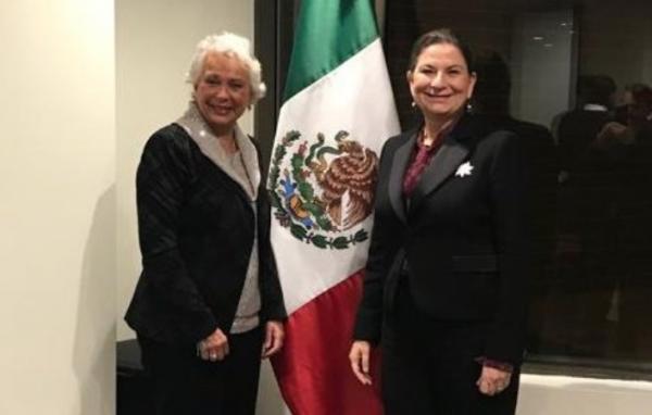 La reunión se realizó en la sede de la Embajada de México