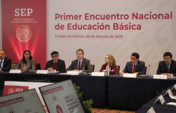 Moctezuma Barragán también afirmó que será la base del ascenso en materia salarial y en su desempeño como maestros. FOTO: ESPECIAL