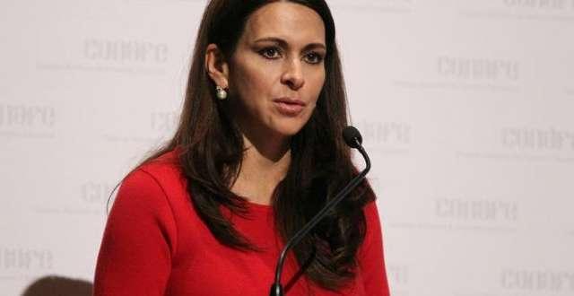 En agosto de 2018,Carolina Viggianopresentó su renuncia al cargo de Secretaria Jurídica y de Transparencia del PRI Foto: Especial