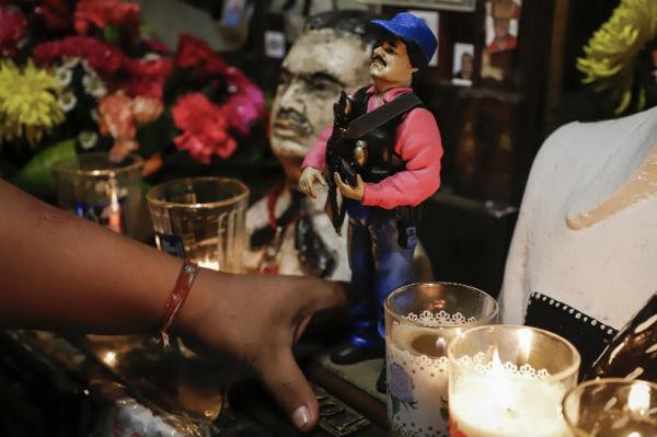 La influencia de Guzmán Loera ha tomado dimensiones multitudinarias. FOTO: AFP