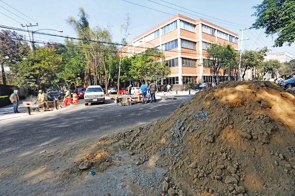 Guanajuato y Orizaba son dos de las calles que bordean la plaza; en la zona hay ocho escuelas y múltiples comercios. Foto: Nayeli Cruz / El Heraldo de México