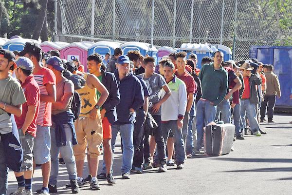 Sólo en el primer semestre de 2019, México regresó a 130 mil 985 migrantes a los países considerados dentro del Triángulo Norte, conformado por El Salvador, Guatemala y Honduras. Foto: Especial.