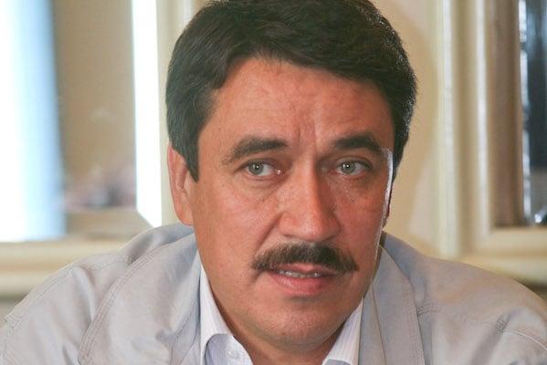 Homero Aguirre Enriquez, vocero nacional de Antorcha Campesina, FOTO: SAUL LOPEZ/CUARTOSCURO.COM