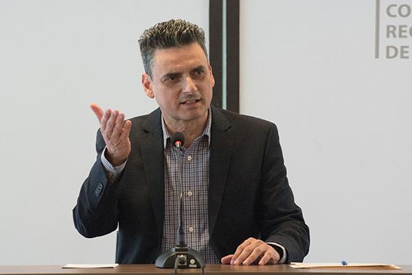 Guillermo Ignacio García Alcocer, presidente de la Comisión Reguladora de Energía (CRE). FOTO: CUARTOSCURO