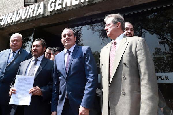 Cuauhtémoc Blanco, gobernador de Morelos presentó una denuncia. FOTO: CUARTOSCURO.COM