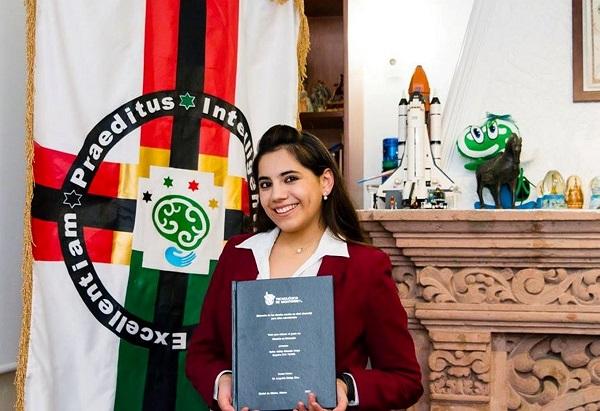 De niña fue parte de la primera generación del exitoso Programa de Potenciación Intelectual del Centro de Atención al Talento (CEDAT), el organismo más importante en América Latina. Foto: Notimex