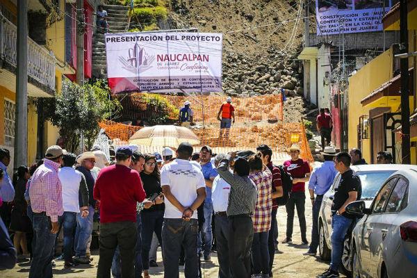 Luis Felipe Puente, destacó la importancia de colocar letreros en zonas de alto riesgo y se notifique a la población