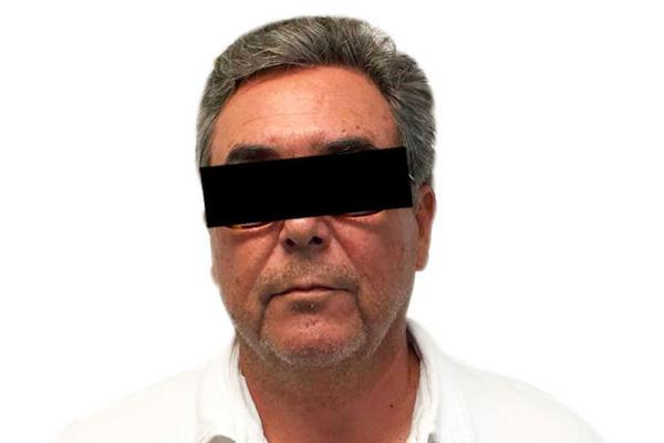 Jorge Juan Torres-López, es señalado por su probable responsabilidad en la comisión de los delitos de asociación delictuosa, operaciones con recursos de procedencia ilícita y fraude.  FOTO: FGR /CUARTOSCURO.COM