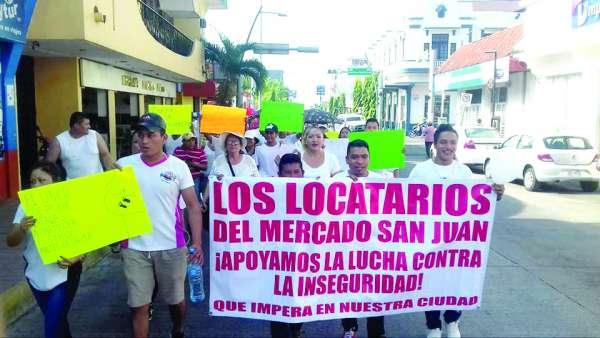 Comerciantes de Tapachula exigen más seguridad y resolver el tema migrante.