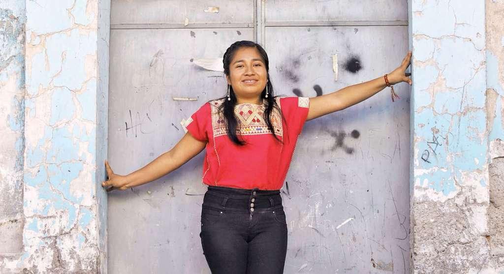 FESTEJO. La joven asistirá a los premios Oscar. Foto: Víctor Gahbler