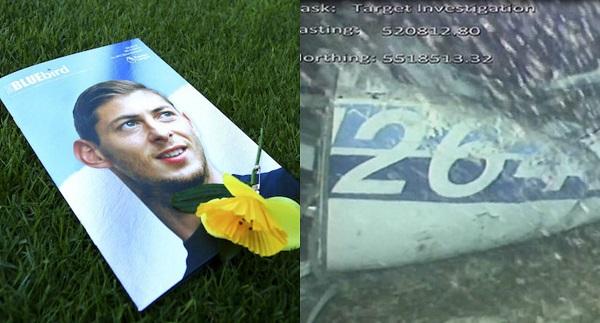 El día de ayer, las autoridades recuperaron un cadáver de los restos en el fondo del mar de la avioneta en que viajaban el futbolista argentino Emiliano Sala y su piloto. Foto: Especial