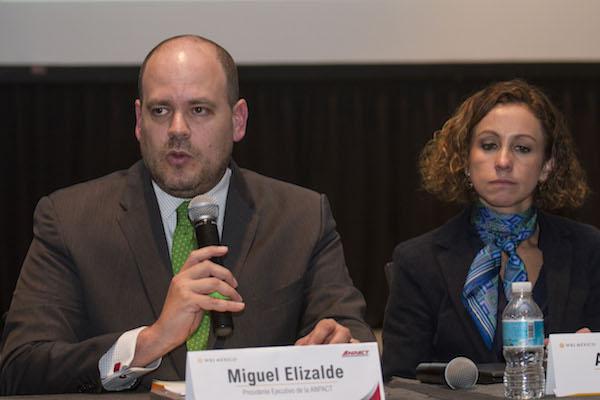 Miguel Elizalde, presidente ejecutivo de la Asociación Nacional de Productores de Autobuses, Camiones y Tractocamiones (ANPACT), Archivo.  FOTO: ISAAC ESQUIVEL /CUARTOSCURO.COM