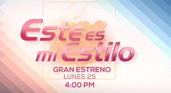 """""""Este es mi estilo"""" se transmitirá por Azteca Uno, de lunes a viernes a las 4 de la tarde con una doble transmisión los viernes a las 7:30 de la noche. FOTO: @MiEstiloMX"""