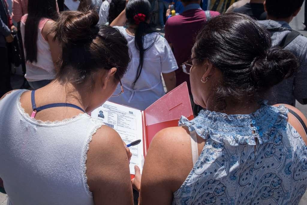 Examen de ingreso a la UNAM